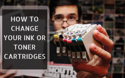 How to Change your Ink or Toner Cartridges