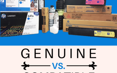 Genuine Cartridges vs Compatible Cartridges- Which is the Best?